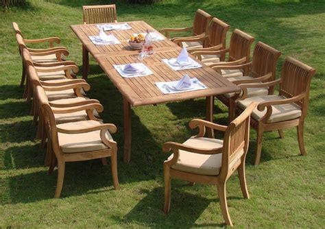 Teak Wood Outdoor Furniture by Outdoor Teak Patio Furniture The Best Wood Furniture