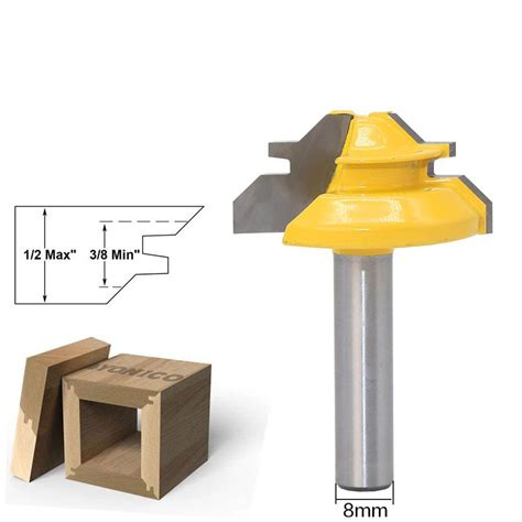 45 Degree Mortise And Tenon Cutter 8 1 3 8 Panel Cutter