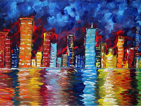 chalk paint cities city paintings www pixshark images galleries