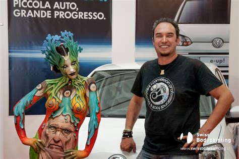 swiss painting festival 2013 swiss bodypainting the vyrus project vw e up