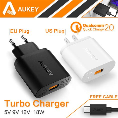 Charger Aukey Charger 30 18w Smart Fast Charging Qualcomm buy 100 original auto universal single micro usb car