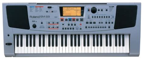 Keyboard Roland Em55 roland em55 wikizic
