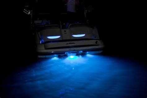 cobalt boats underwater lighting yamaha boat h2o 15 led underwater transom lighting blue ebay
