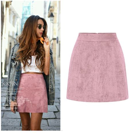 skirt mini batik pink purple mayli rok mini batik pink ungu may customize mini high waist skirt retro suede