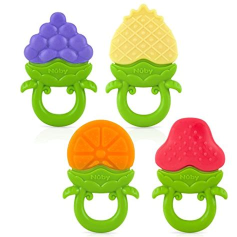 Nuby Ring Teether nuby fruity chews ring teether colors may vary food