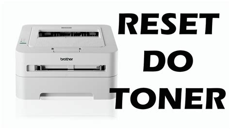 resetting brother toner reset da brother hl 2130 resetar toner youtube