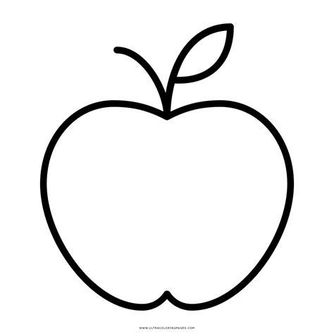 imagenes para colorear una manzana manzana coloring pages coloring pages
