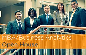Dual Degree Mba Utk by Mba Masters In Business Analytics Open House Haslam