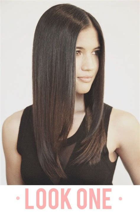 horizontal layers on long hair 8 best images about increase layered forms on pinterest