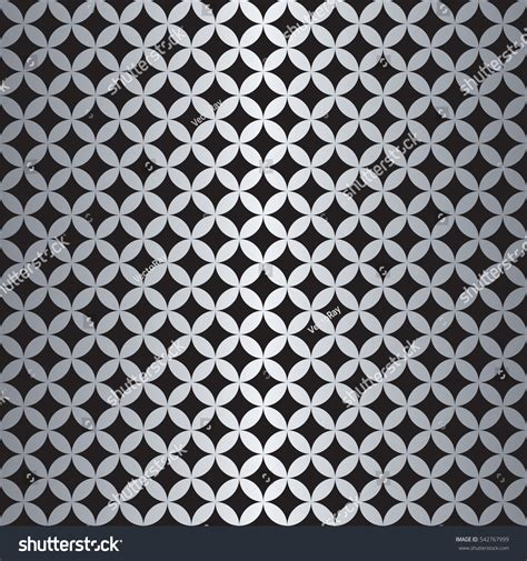 svg pattern overlapping seamless overlapping circle pattern vector format stock