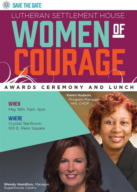 lutheran settlement house lutheran settlement house women of courage awards ceremony and luncheon ministrylink