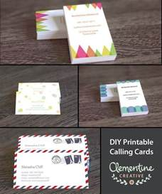 free downloadable business cards best 25 card templates printable ideas on