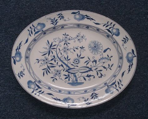 blue onion pattern dishes dresden china dinnerware furnival blue onion pattern