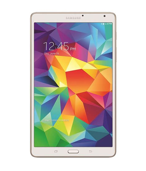 Samsung Tab 4 8 samsung galaxy tab s 8 4 tablet 16gb wi fi 3g dazzling white tablets at low prices