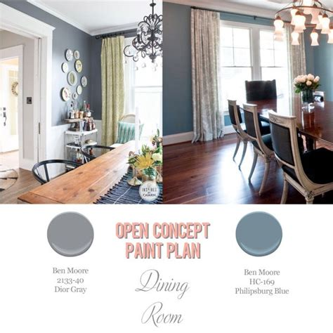 foolproof paint selections for an open concept floor plan dining room open