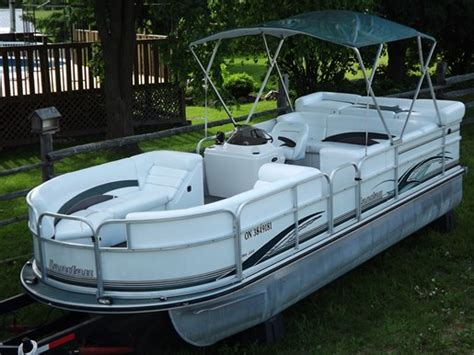 used tritoon boats for sale in ontario landau elite 225 tritoon 2003 used boat for sale in