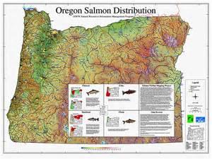 oregon resources map oregon salmon distribution map resources