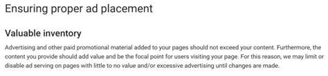 adsense balance not updating google removes adsense 3 ads per page limit focuses on
