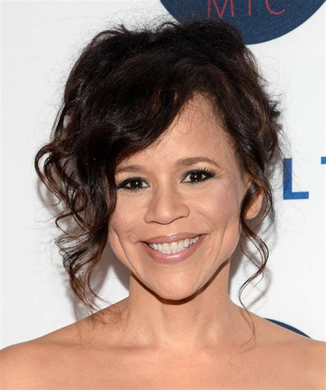 what is wrong with rosie perez hair rosie perez long curly formal wedding hairstyle