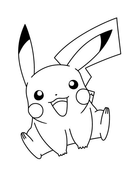 pikachu coloring pages game pikachu ausmalbild pokemon pinterest pok 233 mon