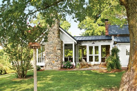Before And After Farmhouse Remodel Southern Living Farmhouse Remodel Plans