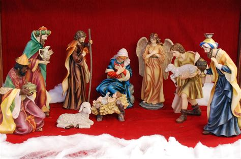 nativity set 28 quot includes 10 nativity figures