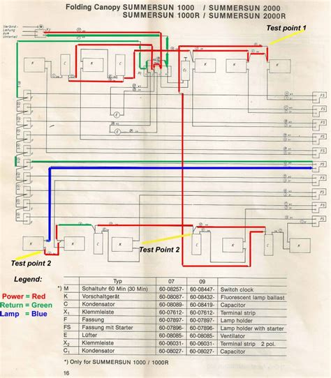 alisun tanning bed wiring diagram 33 wiring diagram
