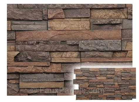 stone facade dry stack panels cost effective remodeling