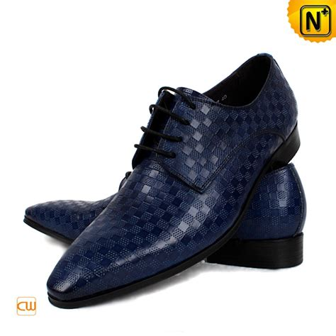 oxford shoes blue blue leather oxford dress shoes for cw762082