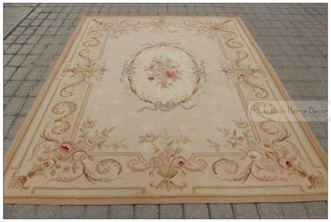 aubusson area rugs 6 x9 woven aubusson area rug antique pastel floor catpet decorative in rug from