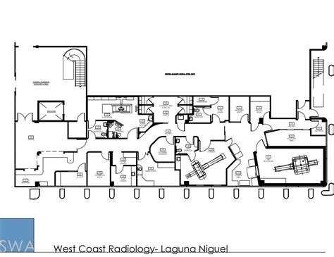 Medical Office Floor Plans by West Coast Radiology Saunders Wiant Oc