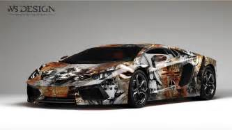 Lamborghini Lamborghini Aventador Lamborghini Aventador Rust Design By Ws Designs