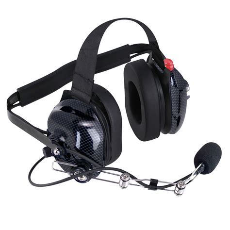 rugged headsets h42 carbon fiber headset with ptt h42 cf 135 15 rugged radios headsets intercoms 2 way