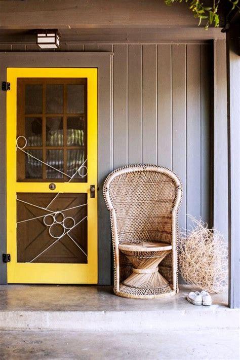 bright yellow door bright yellow screen door frame s u m m e r h o u s e