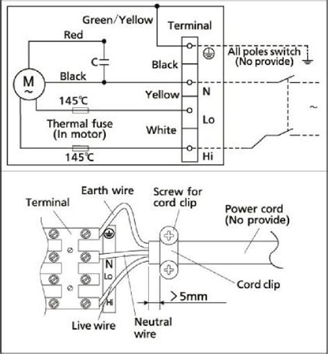 emerson psc motor wiring diagram emerson motor