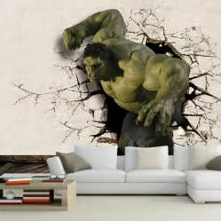 full wall mural decals 3d hulk mural wallpaper full wall murals print decals home