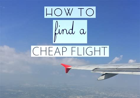 How To Find A Cheap Flight The Lavish Nomad Where To Buy Cheap Lights