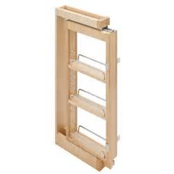 Pull Out Spice Racks For Kitchen Cabinets Pull Out Spice Rack Kitchen Pinterest