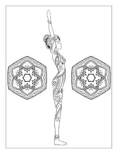 coloring pages yoga poses 2715 best images about adult coloring therapy free