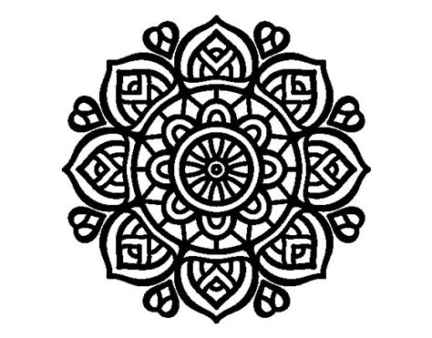coloringcastle com mandala coloring pages html mandala for mental concentration coloring page