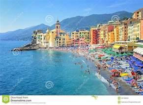 Mediterranean Beach House Plans camogli genoa italy stock photo image 45168504