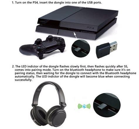 Usb Bluetooth Untuk Laptop mini usb bluetooth dongle untuk playstation ps4 black