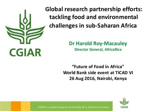 environmental challenges in africa global research partnership efforts tackling food and