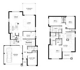 two story house blueprints two story house plans narrow blocks arts