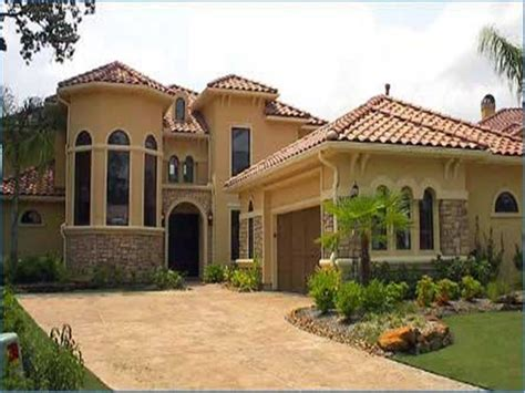 spanish home design house plans courtyard spanish style colonial home