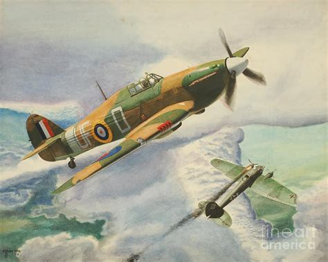 Canada Home Decor Online hawker hurricane painting by oleg konin