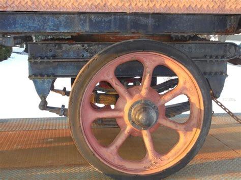 Wheels Truck Iron Fs Early 1910s Fruehauf 5 Th Wheel Truck Trailer