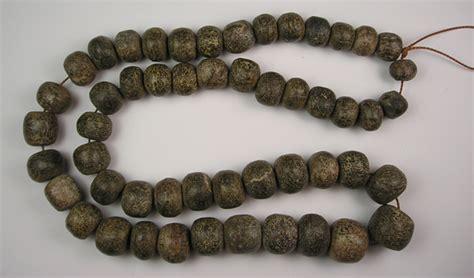 bead wooly wooly mammoth bone