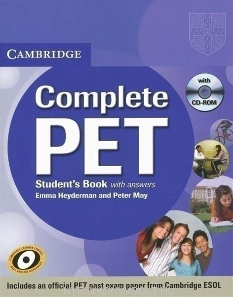 complete first students book 1107633907 complete pet student s book with answer key and cd rom nyelvk 246 nyv forgalmaz 225 s nyelvk 246 nyvbolt