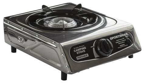 burner portable cooktop sportsman series portable single burner cing stove gas